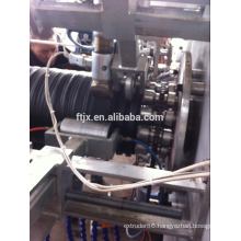 PE steel strip winding pipe production line