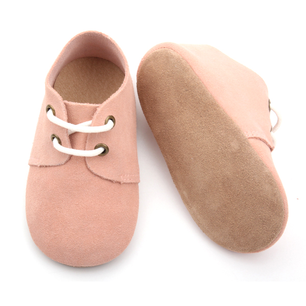Baby Leather Oxford Shoes