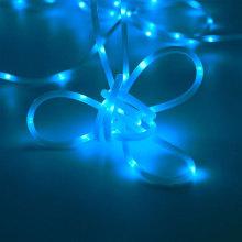 Luz azul da corda de corda do diodo emissor de luz do tubo