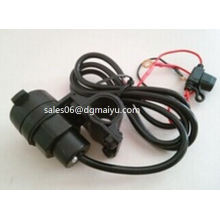 with USB Ports 12V Car, Motorcycle, Modified Vehicle Cigarette Lighter Socket