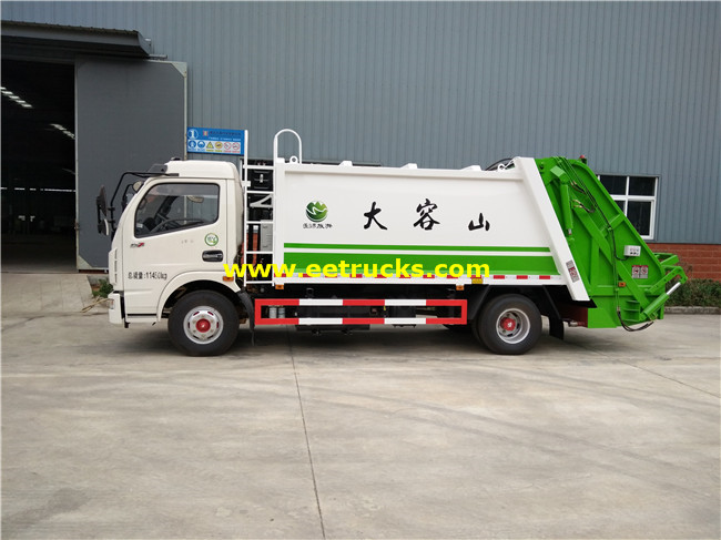 142HP 4m3 Trash Compactor Vehicles