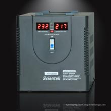 Affichage LED à affichage chaud Régulateur Stabilisateur AVR 8000VA 4800W avec affichage compteur