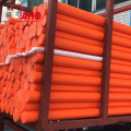 Orange Colorful HDPE Rod Rods Bar Bars