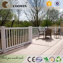 Exterior balcony composite timber decking