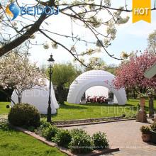 Tente gonflable de dômes d'événement Tente de chasse de fête de bande de chasse de mariage