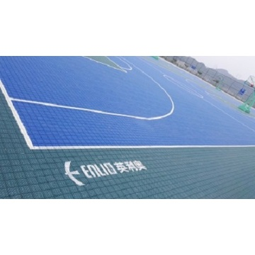 Enlio Outdoor Basketball Court Tiles FIBA