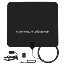 Antena satelital de TV interior VHF UHF de mejor venta con conector F IEC
