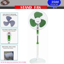 Ventilateur domestique de 16 pouces - Ventilateur de stand avec base ronde
