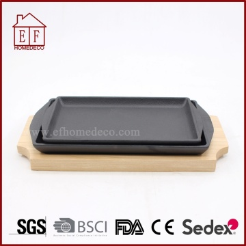 Cast Iron Square Fry Fry and Griddle