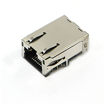 RJ45 TAB-UP 1000Base con LED EMI DIP