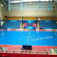 Pavimento interior de PVC e PVC interlock para futebol / tribunal de futsal