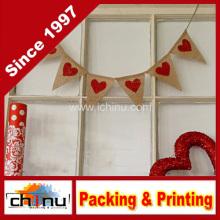 Valentinstag Mini Burlap Banner Dekoration (420037)
