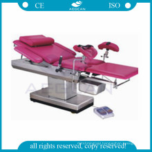 AG-C102A CE ISO surgical obstetric gynecological chair delivery bed manufacturers