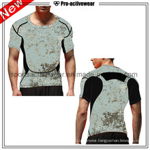 OEM Competitive Price Custom Made Round Neck Casual Men T Shirts