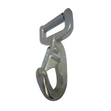 3034 Unique Galvanized Steel Strap Bar webbing Snap Rectangular Eye Hook