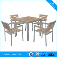 Foshan Salle à manger Set Table et chaises meubles en teck
