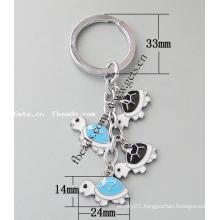 Gets.com zinc alloy silver gold heart key