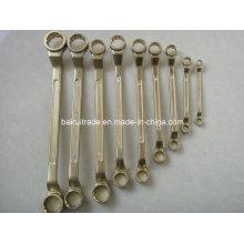 Clé combinée sans étincelle de combinaison en aluminium de combinaison de combinaison, clef fixe