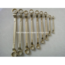 Non-Sparking Aluminum Combination Wrench Sparkless Combination Spanner, Fix Spanner
