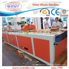 2015 nuevo técnica de línea de máquina de extrusión de WPC PE PVC Perfil