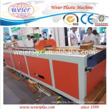 2015 novo técnico de WPC PE PVC Perfil linha de máquina extrusora