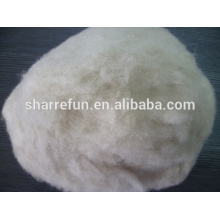 Dehaired And Carded Chinese Sheep Wool Med Shade