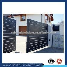 Porta de entrada de alumínio de design moderno