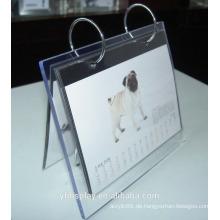 Löschen Sie kundengebundenen Acrylkalender für Haus und Büro