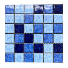 Glazed ceramic non-slip swimming pool tiles for outdoor