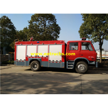 6cbm 4x2 Fire Rescue Tender Camions