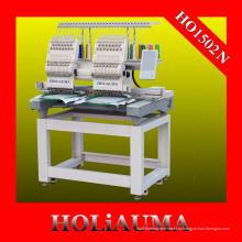 Двухголовочная вышивальная машина