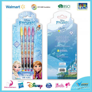 Frozen 4 Piece Gel Pen Set