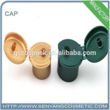 Alle Arten von Farbe Flip Top Cap Sockel Kopf Cap Schrauben Kosmetik Cap