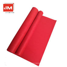 Chinese suppliers stairs nonwoven red carpet