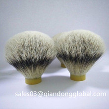 Haute qualité Silvertip Badger Hair Knot