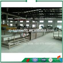 Máquinas de procesamiento de alimentos Línea de producción de setas en escabeche