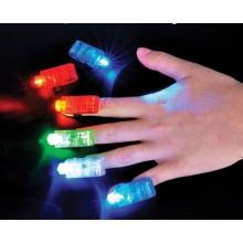 Lumière de doigt LED changeant de couleur