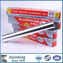 Restaurant Kitchenware Food Packaging Aluminium Foil Roll