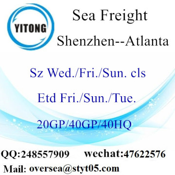 Shenzhen Port Sea Freight Shipping À Atlanta