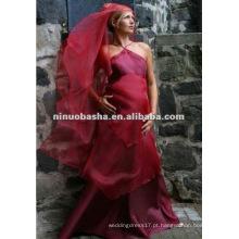 Vestido de Noiva de Império de Design Simples