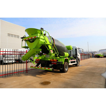 5m3 Volumetrik Self Loading Concrete Mixer Truck