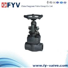 Válvula de retención de acero de la puerta de acero forjado ANSI