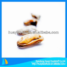 frozen iqf mussel meat with shell