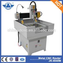 Металла cnc маршрутизатор поставщика Тя Хэ 4040 мини металла cnc маршрутизатор гравер