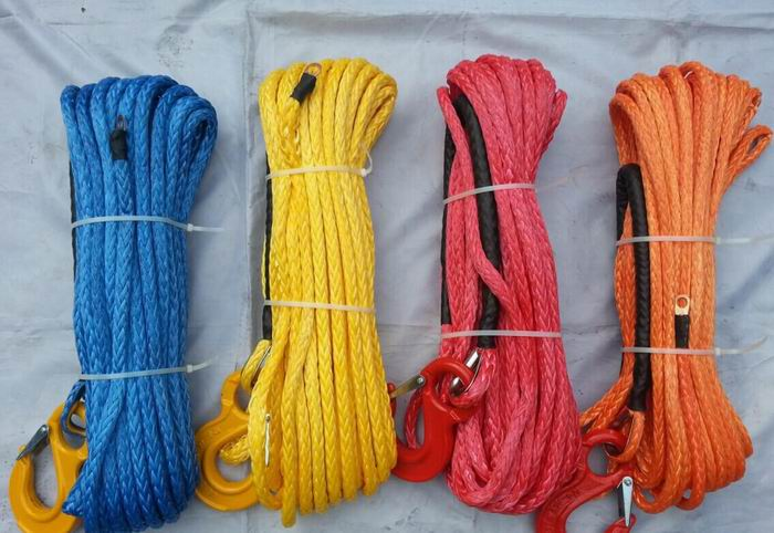 Colourful Winch Rope