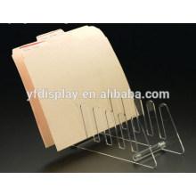Acryl Collator, Acryl-Desktop-Datei-Organizer, Clear File Dispenser