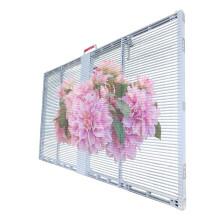 Affiche LED transparente de fenêtre