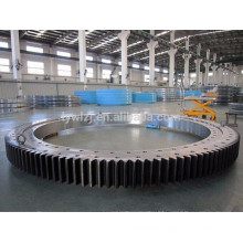 single row cross roller slewing bearing for excavator