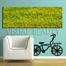 Panoramic Picture Print/ Flower Picture Print On Canvas For Living Room Decor