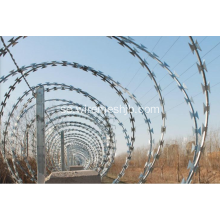 Anti-klättring Concertina Razor Wire